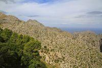 Beautiful panoramic view of Mirador es Colomer, Mallorca, Balearic islands, Spain