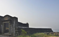 Castella de Aguada also known as the Bandra Fort, Bandstand, Mumbai, Maharashtra