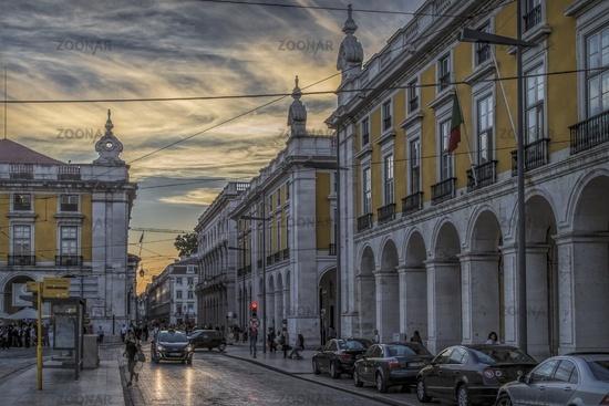 Lissabon 3 - Praça do Comércio