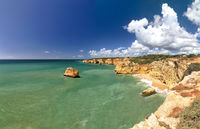 Coastal landscape at the Algarve