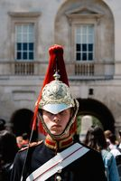 A soldier of the Horse Guard in London