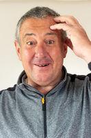 Portrait of an elderly sympathetic man