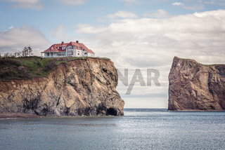 Little house on a cliff