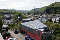 View of the health resort Gemünd