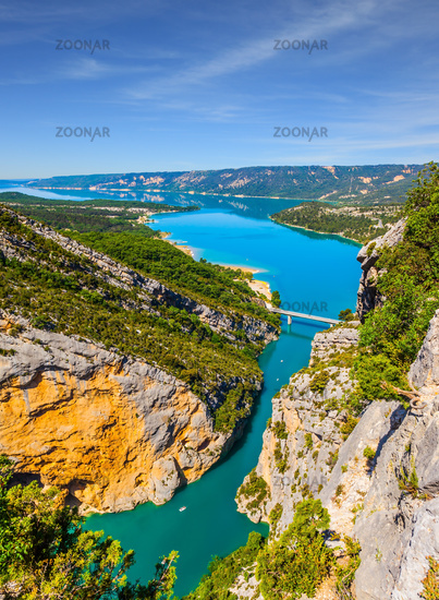 The river Verdon