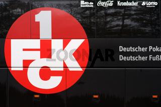 Mannschaftsbus 1. FC Kaiserslautern