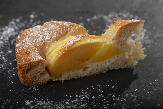 Stück vom bayerischen Apfelkuchen