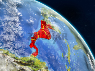 Central America from space