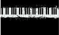 grunge piano background