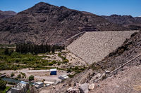 dam in the desert in Chile