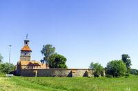 Walternienburg Castle near Zerbst/Anhalt, Saxony-Anhalt, Germany