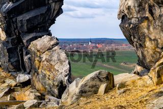 Bilder von der Teufelsmauer im Harz