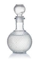 Crystal decanter of vodka