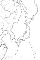 World Map of JAPANESE Archipelago: Japan (endonym: Nippon/Nihon), and its islands. Geographic chart.