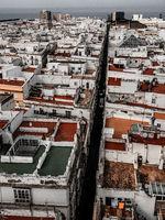 Cadiz Cityscape, aerial view