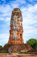 Wat Lokaya Sutharam temple, Ayutthaya, Thailand