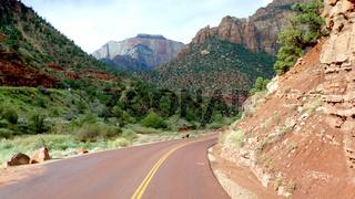 Unterwegs auf dem Zion Mt. Carmel Highway