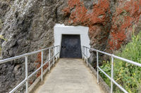 Point Bonita Lighthouse Tunnel Entrance In The Rock.