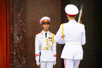 Ho Chi Minh Mausoleum Guards