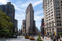 Flatiron Building in Manhattan, NYC