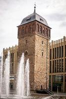 Red Tower of Chemnitz in Saxony