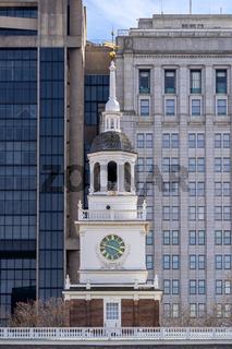 Independence Hall Philadelphia PA USA.
