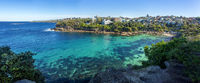 Panoramic views of Gordons Bay Sydney