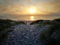 sunset on Fishland