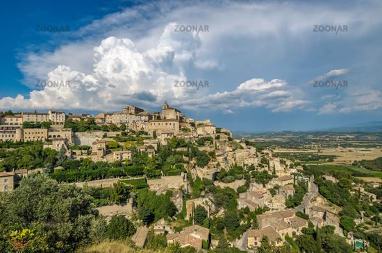 Provencal village of Gordes, France