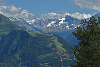 Zillertaler alps near Mayrhofen in Austria, Europe,