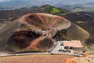 Etna-Ätna Vulkan