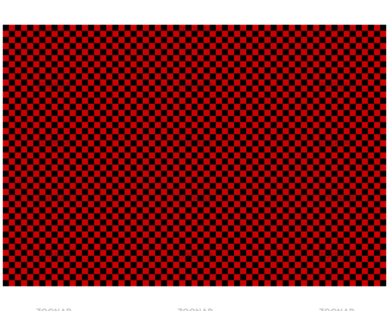 Schachbrettmuster als Hintergrund - Checkerboard pattern as background