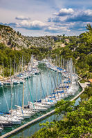 Picturesque small bay - Calanques