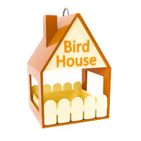 typical bird house