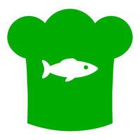 Fisch und Kochhaube - Fish and chef hat