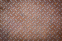 Rusty Vignetted Metal Texture Background