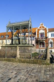 Denkmal Köšnigin Luise von Preußen, Gransee, Brandenburg, Deutschland