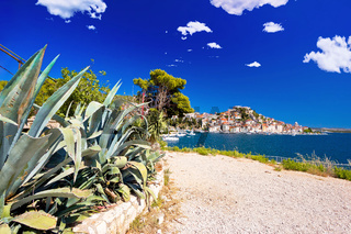 UNESCO town of Sibenik sailing destination coast view