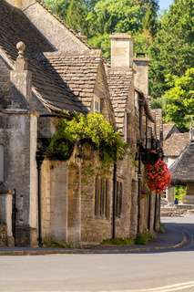 Cotswolds villages England UK