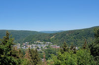 Heimbach(Eifel) in Eifel National Park,North Rhine westphalia,Germany