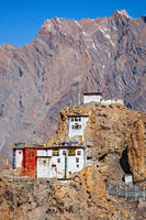 Dhankar gompa monastery . Himachal Pradesh, India