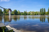 cloister lake in Sindelfingen Germany