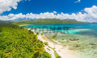 Samana peninsula,beach Rincon