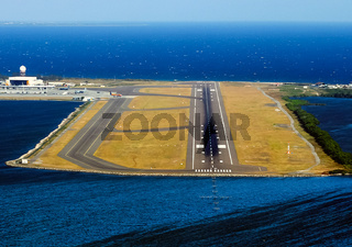 Airport on the island