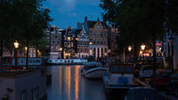 Romantic evening Amsterdam, Netherlands