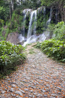 Soroa waterfall, Pinar del Rio, Cuba