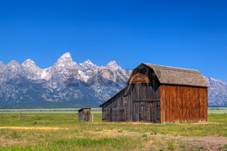 The T. A. Moulton Barn is a historic barn in Wyoming, United States