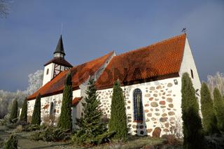 Kirch Heiligenwalde, now the Church of St. Nicholas. Kaliningrad region, Russia