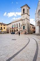 Nursia in Italy Marche