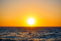 Mediterranean sea - Sunset